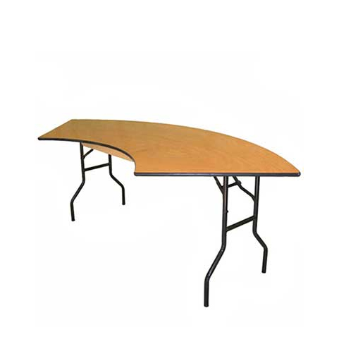 Genial 6u0027 Serpentine Table