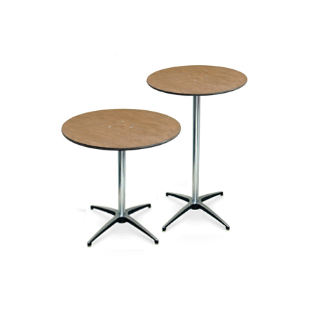 Cocktail Table Rental - Tall round cocktail table