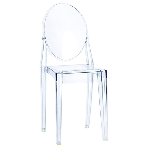 Ghost Chair Clear Chairs for Rent